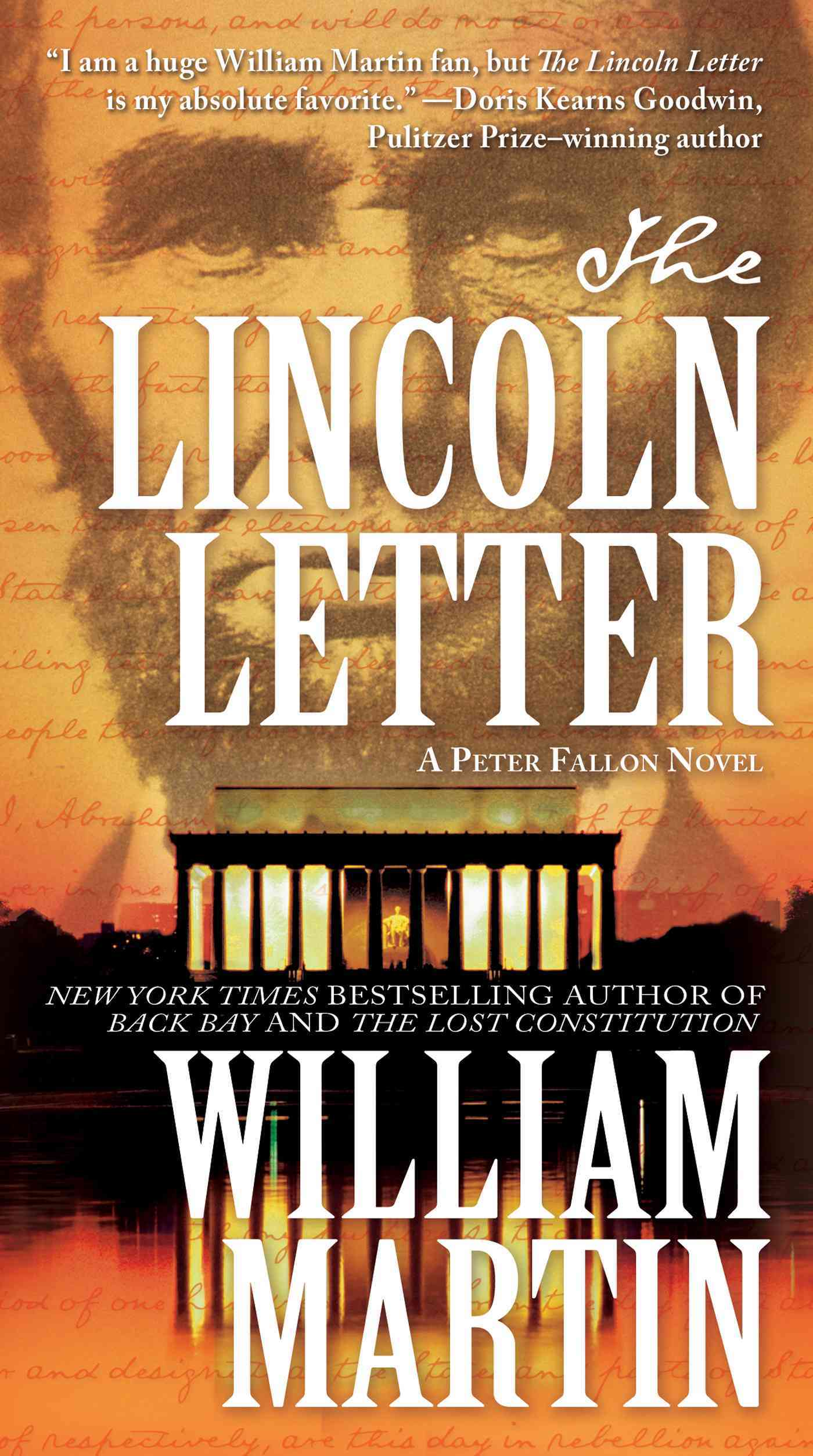 The Lincoln Letter By Martin, William